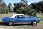 1968 SHELBY GT500 CONVERTIBLE - Side Profile - 151399
