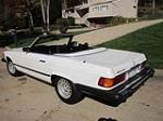 1978 MERCEDES-BENZ 450SL CONVERTIBLE - Rear 3/4 - 151442