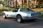 1982 CHEVROLET CORVETTE 2 DOOR COUPE - Rear 3/4 - 151465