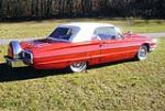 1964 FORD THUNDERBIRD CONVERTIBLE - Rear 3/4 - 151472