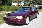 1998 MERCEDES-BENZ SL500 CONVERTIBLE - Front 3/4 - 151481