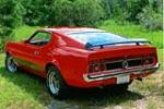 1973 FORD MUSTANG MACH 1 FASTBACK - Rear 3/4 - 151936