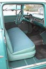 1955 CHEVROLET BEL AIR 4 DOOR SEDAN - Interior - 151986