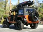 2011 JEEP WRANGLER CUSTOM SUV - Rear 3/4 - 152027