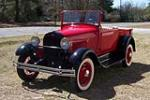 1928 FORD MODEL A ROADSTER PICKUP - Front 3/4 - 152042