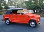 1974 VOLKSWAGEN THING CONVERTIBLE - Side Profile - 152044