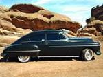 1950 OLDSMOBILE 88 CUSTOM 2 DOOR COUPE - Side Profile - 152079
