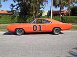"1969 DODGE CHARGER ""DUKES OF HAZZARD"" - Side Profile - 152139"