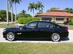 2012 BMW 750LI ACTIVE HYBRID RWD - Side Profile - 152156