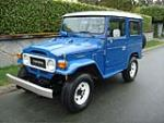 1982 TOYOTA LAND CRUISER FJ-40 2 DOOR SUV - Front 3/4 - 152169