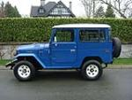 1982 TOYOTA LAND CRUISER FJ-40 2 DOOR SUV - Side Profile - 152169