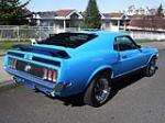1970 FORD MUSTANG MACH 1 FASTBACK - Rear 3/4 - 154065