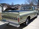 1969 CHEVROLET C-10 PICKUP - Rear 3/4 - 154072