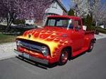 1956 FORD F-100 CUSTOM PICKUP - Front 3/4 - 154123