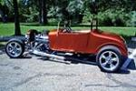 1927 FORD MODEL T CUSTOM ROADSTER RE-CREATION - Front 3/4 - 154126