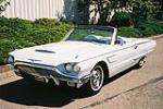 1965 FORD THUNDERBIRD CONVERTIBLE - Front 3/4 - 154142