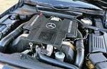 1991 MERCEDES-BENZ SL500 AMG CONVERTIBLE - Engine - 154145