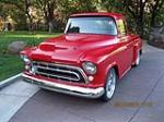 1957 CHEVROLET 3100 CUSTOM PICKUP - Front 3/4 - 154158