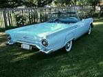 1957 FORD THUNDERBIRD CONVERTIBLE - Rear 3/4 - 154199
