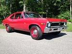 1969 CHEVROLET NOVA 2 DOOR COUPE - Front 3/4 - 154337