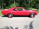 1969 CHEVROLET NOVA 2 DOOR COUPE - Side Profile - 154337