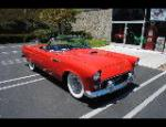 1955 FORD THUNDERBIRD CONVERTIBLE - Front 3/4 - 154354