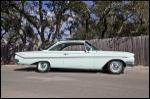 1961 CHEVROLET BEL AIR 2 DOOR COUPE - Side Profile - 154464