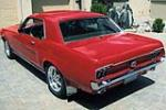 1968 FORD MUSTANG CUSTOM 2 DOOR COUPE - Rear 3/4 - 154763