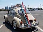 1967 VOLKSWAGEN BEETLE 2 DOOR SEDAN - Rear 3/4 - 154792