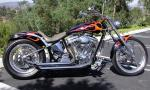 1999 HARLEY-DAVIDSON CUSTOM MOTORCYCLE - Rear 3/4 - 15576