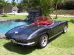 1962 CHEVROLET CORVETTE CUSTOM CONVERTIBLE - Rear 3/4 - 157307