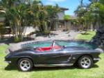 1962 CHEVROLET CORVETTE CUSTOM CONVERTIBLE - Side Profile - 157307