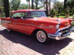 1957 CHEVROLET BEL AIR 2 DOOR HARDTOP - Front 3/4 - 157318