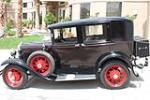 1930 FORD MODEL A 4 DOOR SEDAN - Side Profile - 157342