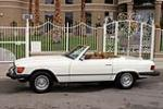 1982 MERCEDES-BENZ 380SL 2 DOOR CONVERTIBLE - Side Profile - 157344
