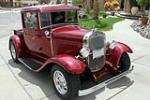 1931 FORD MODEL T CUSTOM PICKUP - Front 3/4 - 157353