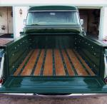 1957 GMC 1/2 TON STEP-SIDE PICKUP - Side Profile - 15742