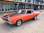 1968 CHEVROLET CHEVELLE SS CUSTOM 2 DOOR COUPE - Front 3/4 - 157420