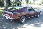 1969 FORD MUSTANG MACH 1 428 CJ FASTBACK - Rear 3/4 - 157458