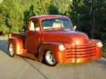 1949 CHEVROLET 3100 CUSTOM PICKUP - Front 3/4 - 157501