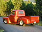 1949 CHEVROLET 3100 CUSTOM PICKUP - Rear 3/4 - 157501