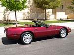 1993 CHEVROLET CORVETTE CONVERTIBLE - Rear 3/4 - 157547