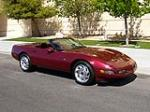1993 CHEVROLET CORVETTE CONVERTIBLE - Side Profile - 157547