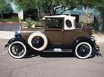 1929 FORD MODEL A OVAL WINDOW BUSINESS COUPE - Side Profile - 157559