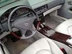 2000 MERCEDES-BENZ SL600 CONVERTIBLE - Interior - 157582