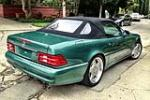 2000 MERCEDES-BENZ SL600 CONVERTIBLE - Rear 3/4 - 157582