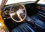 1971 CHEVROLET CORVETTE 2 DOOR COUPE - Interior - 157616