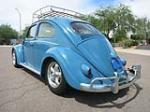 1961 VOLKSWAGEN BEETLE 2 DOOR SEDAN - Rear 3/4 - 157780