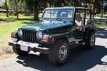 2000 JEEP WRANGLER SUV - Front 3/4 - 157807
