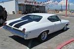 1969 CHEVROLET CHEVELLE MALIBU 2 DOOR COUPE - Rear 3/4 - 157825